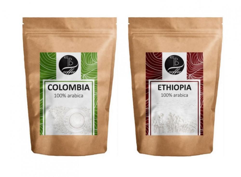 Návrh etikety - TB Coffee