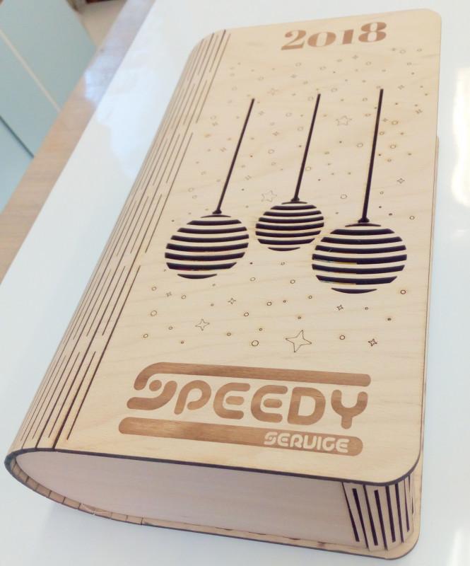 Drevené darčekové balenie - SPEEDY service
